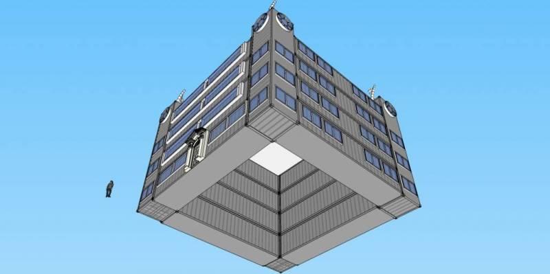 Container Castle Redux