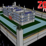 Zombie Fortress: Made from Steel Shipping Containers