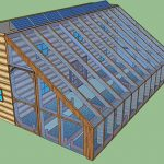Shipping Container Cabin with Greenhouse