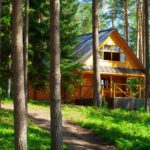off grid Cabin in the mountains