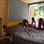off grid camper van conversion