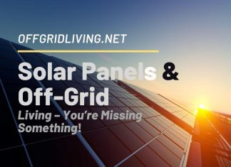 Solar Panels & off-grid living