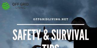 Safety & Self-defence tips-offgridliving.net
