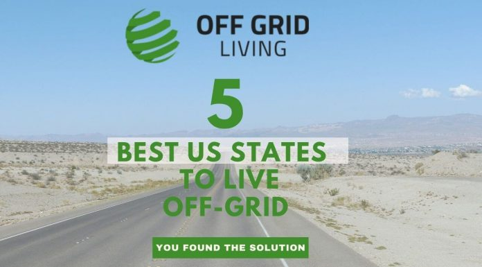 5 Best US States to Live Off the Grid-offgridliving.net